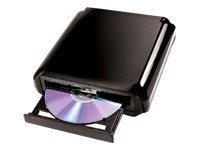 I O Magic 24x DVD+ RW DL USB 2.0 External Drive w  Playback Software