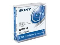 Sony 1.5TB 3TB LTO-5 Custom Labeled Tape Cartridge, LTX1500G-BC, 12557906, Tape Drive Cartridges & Accessories