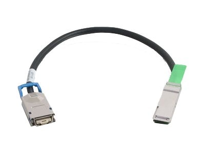 C2G 28AWG CX4 QSFP+ InfiniBand Cable, 1m