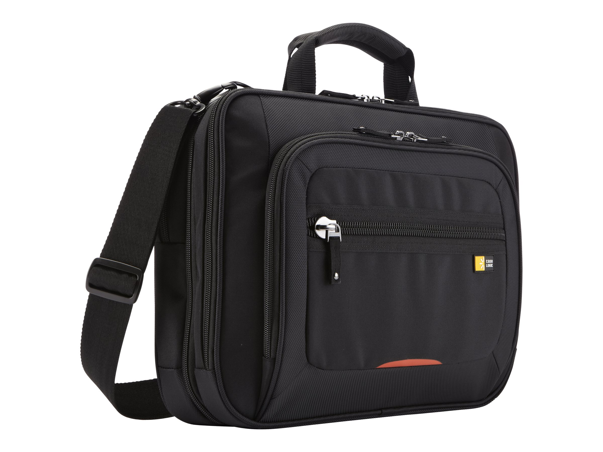 Case Logic 14 Checkpoint Friendly Laptop Case, Black, ZLCS-214BLACK, 14530168, Carrying Cases - Notebook