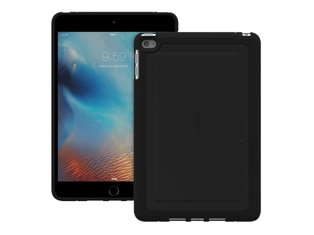 Trident Case Aegis Signature Case for iPad mini 4, Black, AGS-APIPM4BK000
