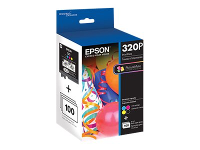 Epson Print Pack for PictureMate PM-400, T320P