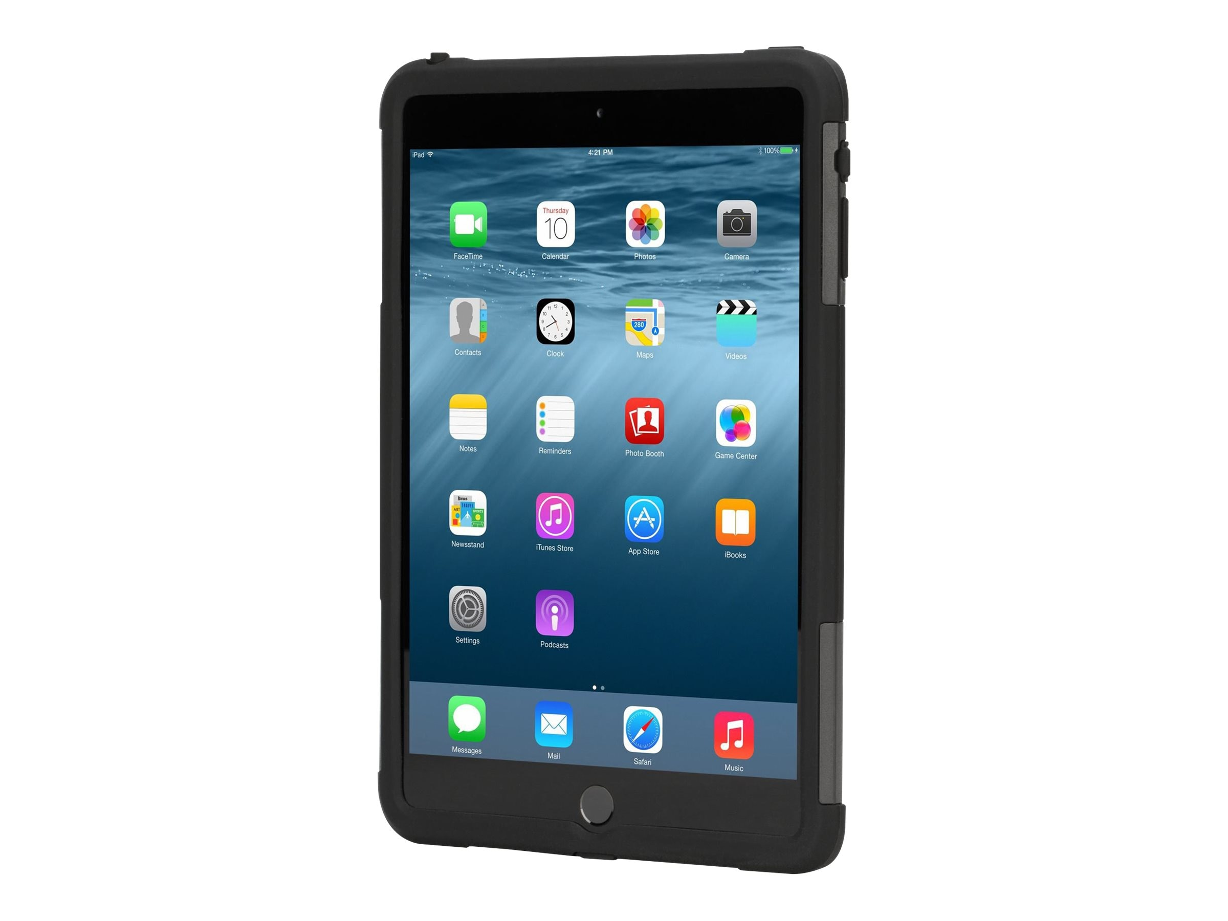 Targus Rugged Safeport Case for iPad mini, Black