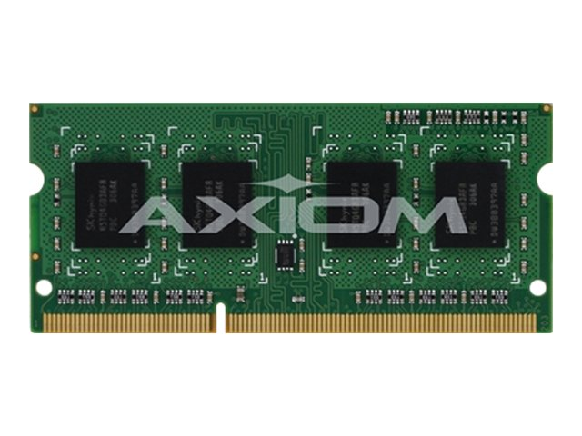 Axiom 4GB PC3-12800 204-pin DDR3 SDRAM SODIMM for Select Models, B4U39AA-AX
