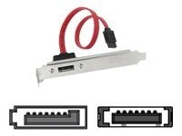 Siig 1-Port eSATA Bracket, CB-BR0011-S1, 9067885, Adapters & Port Converters