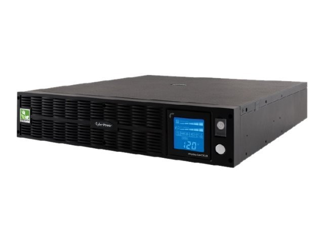 CyberPower 1000VA 750W Smart App Sinewave LCD XL UPS 2U RM Tower AVR 8 Outlets, PR1000LCDRTXL2UA, 9414470, Battery Backup/UPS