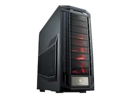 Cooler Master Chassis, Trooper Full Tower XL-ATX 8x3.5 Bays 9x5.25 Bays, Black, SGC-5000-KWN1, 16482711, Cases - Systems/Servers