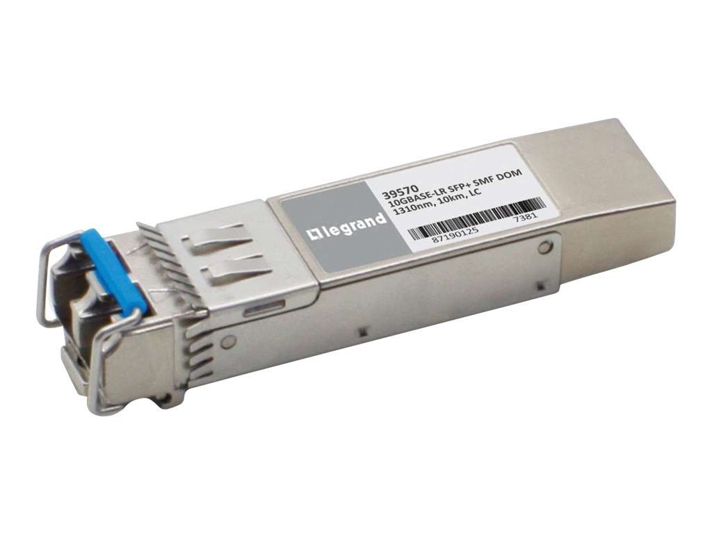 C2G 10GBASE-LR SMF SFP+ MINI-GBIC Transceiver Module HP JD094B Compatible, 39570, 16946491, Network Transceivers