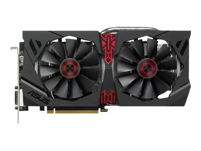 Asus Radeon R7 370 PCIe Overclocked Graphics Card, 2GB GDDR5, STRIX-R9380DC2OC2GD5