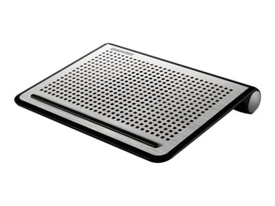 Enermax TwisterOdio 16 Cooling Pad with DreamBass Sound for up to 16 Notebook, Silver, CP008