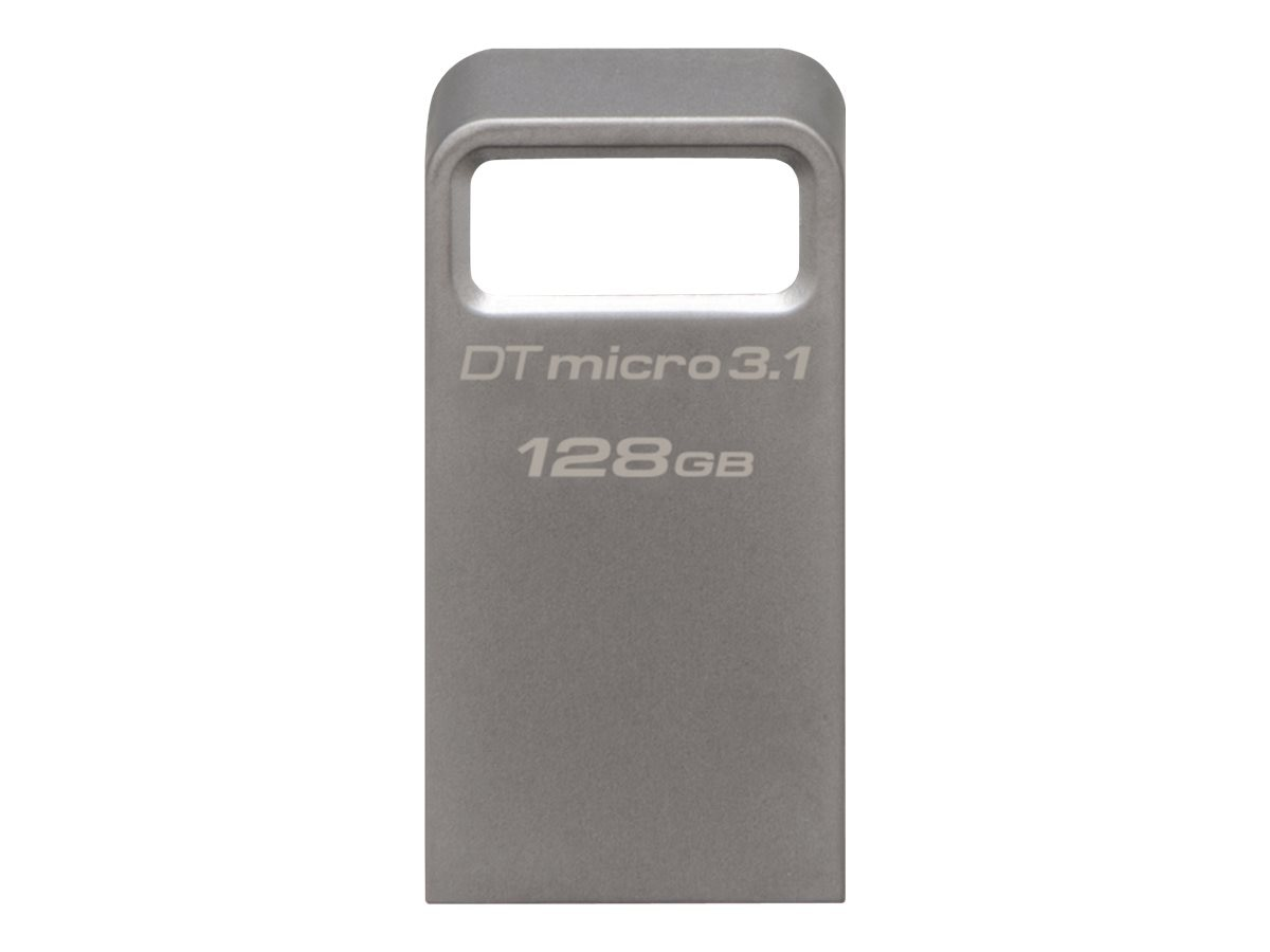 Kingston 128GB DataTraveler Micro 3.1 Flash Drive, DTMC3/128GB, 31270564, Flash Drives