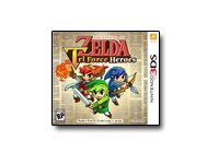 Nintendo Legend Zelda Tri Force, 3DS, CTRPEA3E, 30006307, Video Games