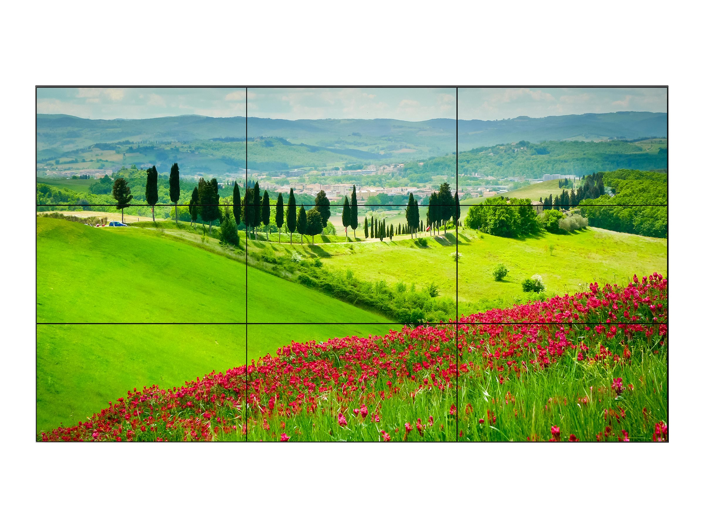 NEC (9) 55 X554UNV Full HD LED-LCD Displays for 3x3 Video Wall Solution, X554UNV-TMX9P, 23411021, Monitors - Large-Format LED-LCD