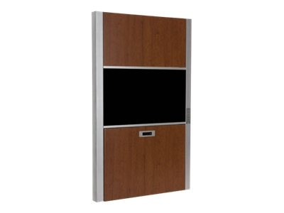 Capsa 30 Wall Cabinet Workstation w  Pin Code Locking, Auto Retract & Height Adjustability, 1799634