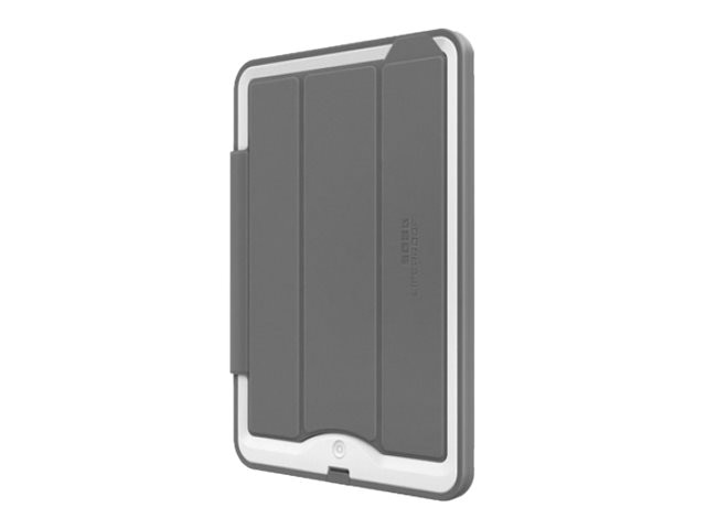 Lifeproof Nuud Cover & Stand for iPad Air 1st Gen, Gray Gray, 1932-01, 18659233, Carrying Cases - Tablets & eReaders