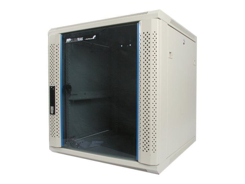 StarTech.com 12U 19 Wall Mounted Server Rack Cabinet, RK1219WALL, 7099963, Racks & Cabinets