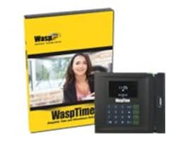 Wasp WaspTime V7 Enterprise with Barcode Clock, 633808551162, 8821102, Software - Human Resources Management