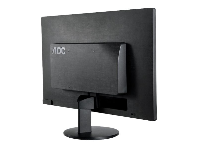 AOC 23.6 E2470SWHE Full HD LED-LCD Monitor, Black, E2470SWHE