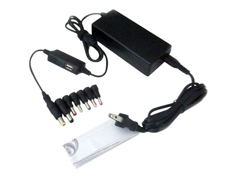 Ereplacements 90 Watt Universal Adapter w  USB, ACU90-SB-S, 16271497, AC Power Adapters (external)
