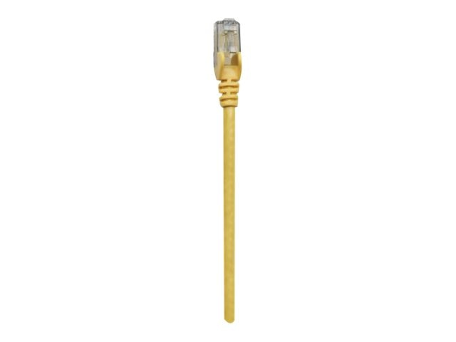 Intellinet CAT6 PVC UTP RJ-45 Cable, Yellow, 50ft