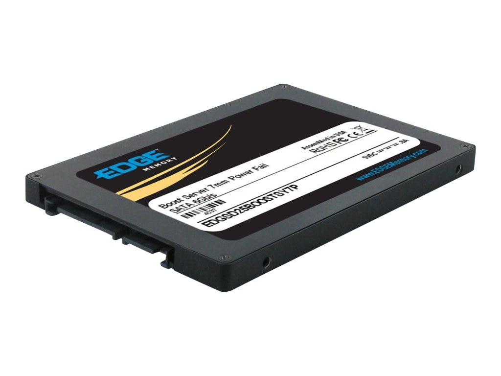 Edge 400GB Boost Server SATA 6Gb s 2.5 7mm Internal Solid State Drive, PE239749, 16493671, Solid State Drives - Internal