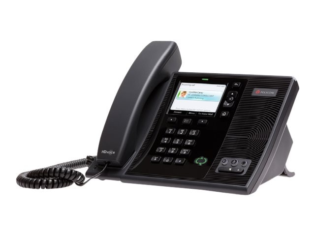 Polycom CX600 IP Phone for Microsoft Communications Server 14 POE Only, 2200-15987-025
