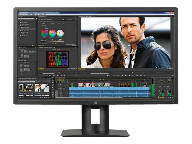 HP 31.5 Z32X 4K Ultra HD LED-LCD Display, Black, M2D46A4#ABA
