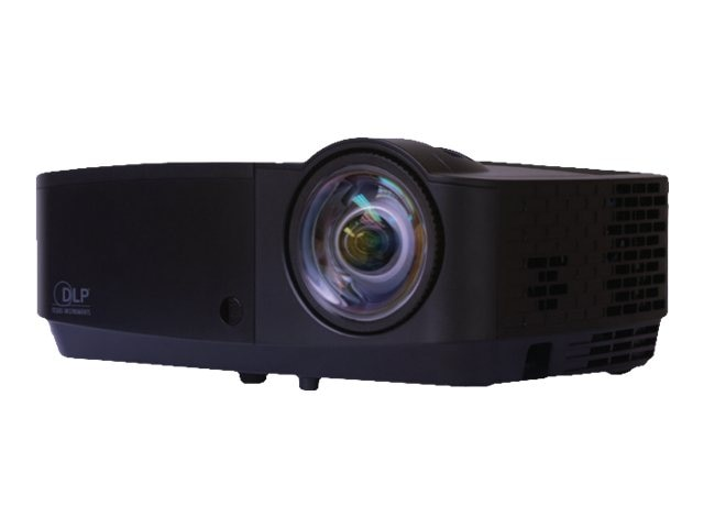 InFocus IN126STA WXGA DLP Projector, 3300 Lumens, Black, IN126STA