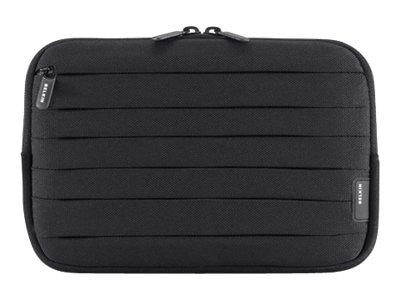 Belkin Pleat Sleeve for Kindle 3 3G, Black White, F8N519-BKW, 13422721, Protective & Dust Covers