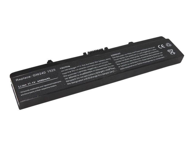Arclyte Performance-Lithuim Li-Ion 11.1V 5200mAh 6-cell Battery for Dell Inspiron 14 15 17 Black, N00286