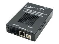 Transition 10 100B-TX to 100B-LX10 1310NM SM SC 20KM Converter Hi Temp, SFBRM1014-180-NA, 12519192, Network Transceivers