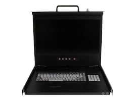 StarTech.com 17 HD 1080p 1U Rackmount LCD Console with Front USB Hub, RACKCONS17HD, 17392910, KVM Displays & Accessories