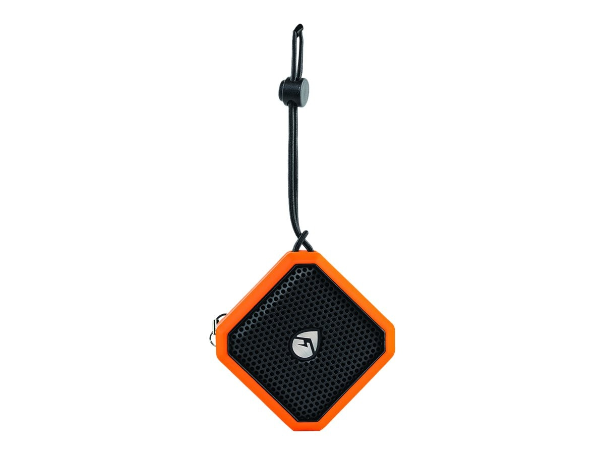 Grace Digital Audio EcoPebble BT Waterproof Speaker - Orange