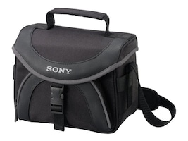 Sony General Soft Camcorder Case, for Select Camcorders, Black, LCSX20, 8317037, Carrying Cases - Camera/Camcorder