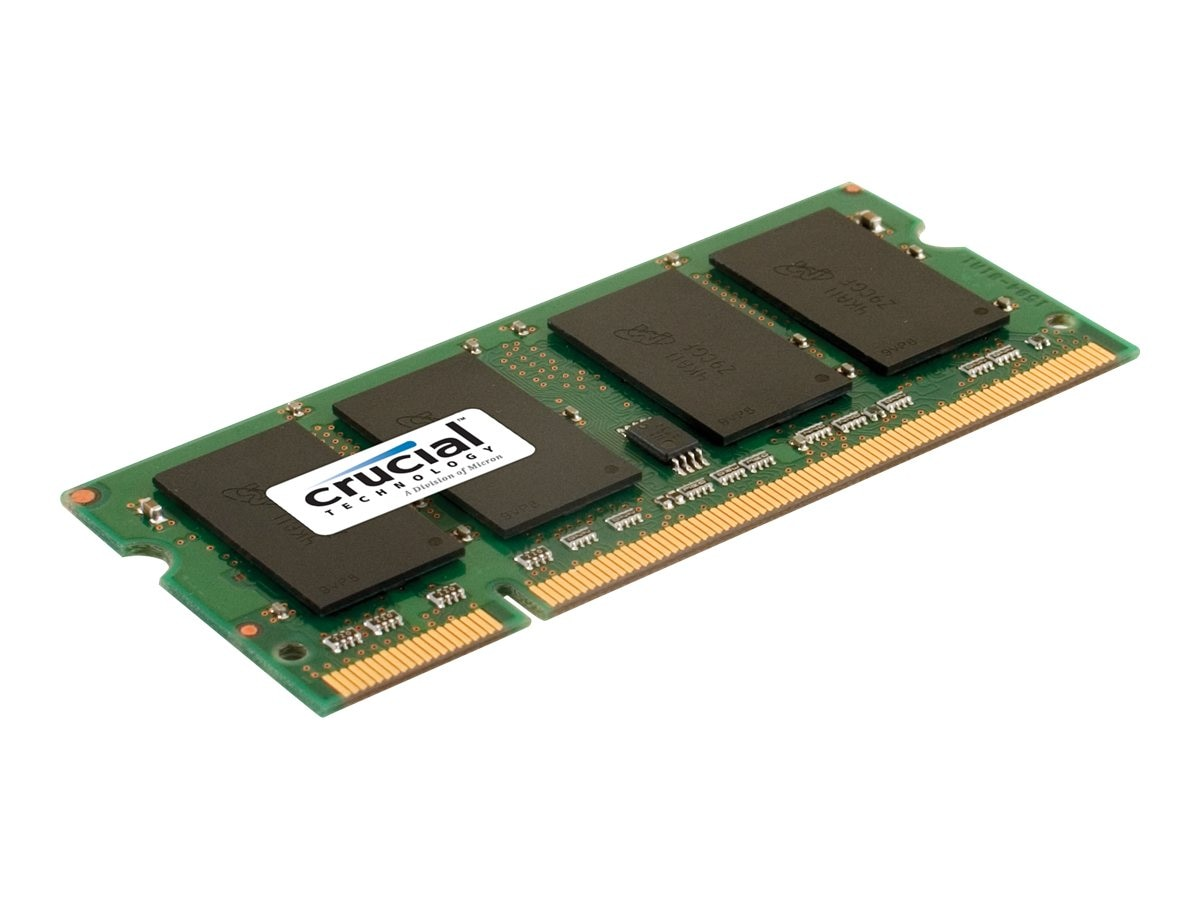 Crucial 4GB PC2-6400 200-pin DDR2 SDRAM SODIMM, CT51264AC800, 9473381, Memory