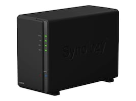 Synology Network Video Recorder 2-Bay (2) 8TB 1GB DDR3 32-bit, NVR216 (4CH), 33145071, Security Hardware