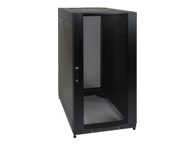 Scratch & Dent Tripp Lite 25U Rack Enclosure Server Cabinet, Black, SR25UB, 30753767, Racks & Cabinets