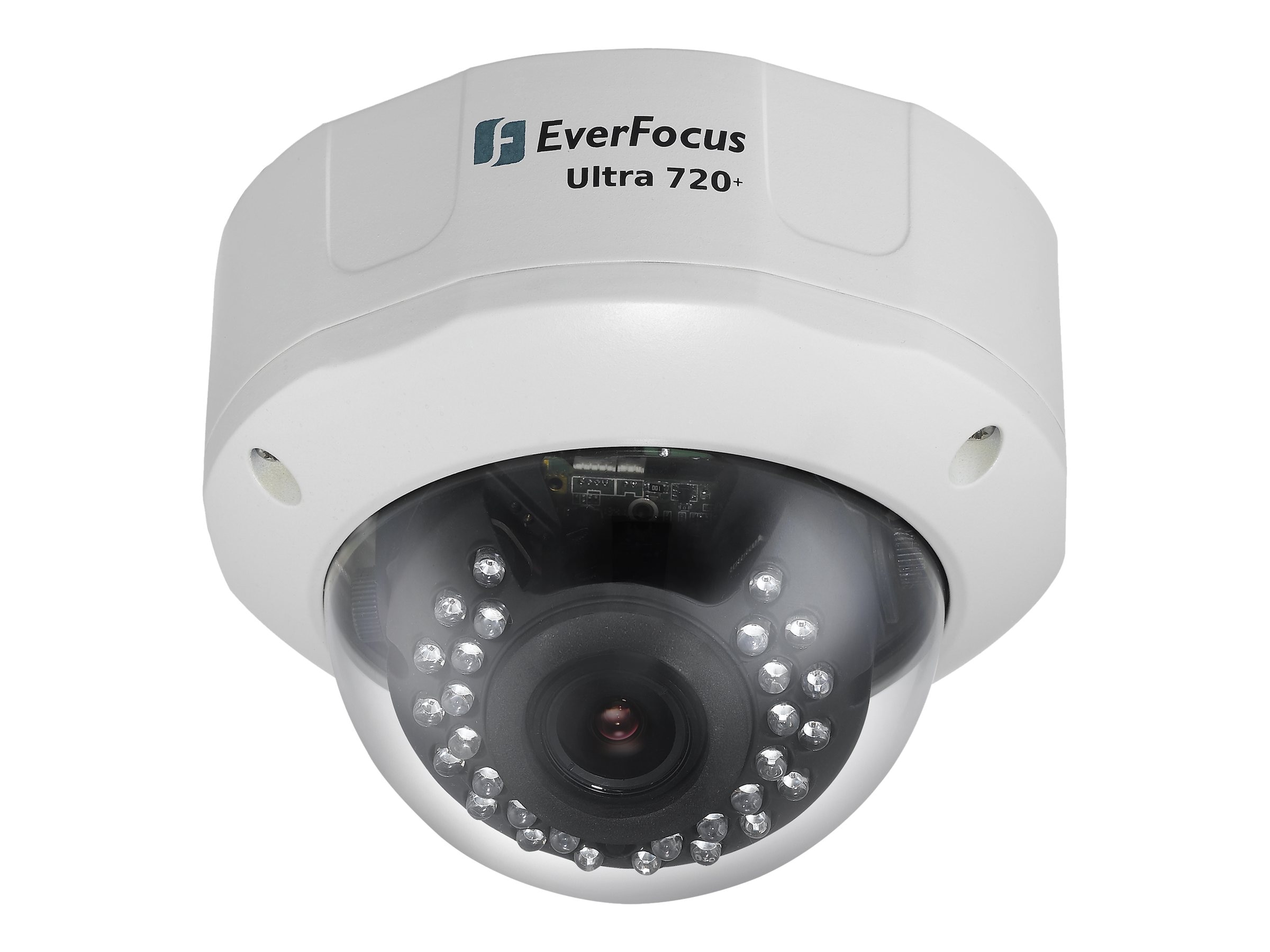 Everfocus EHD730 Outdoor True Day Night Camera with Dwdr IR Dome, EHD730, 14929671, Cameras - Security