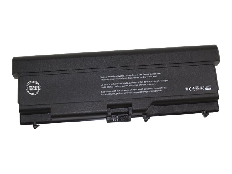 BTI 9-Cell Li-Ion Battery for Lenovo Thinkpad T410 T410I, 0A36303-BTI, 15135805, Batteries - Notebook