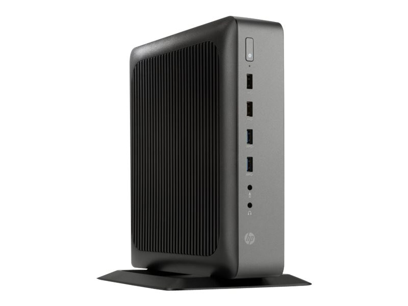HP t620 PLUS Flexible Thin Client AMD GX-420CA 2.0GHz 4GB 16GB Flash HD8400E GbE SmartZero, G4S76UT#ABA