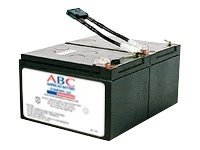 American Battery Replacement Battery Cartridge RBC6 for APC SU700, SU1000, SU1000NET, SM1500RM models, RBC6, 462084, Batteries - Other