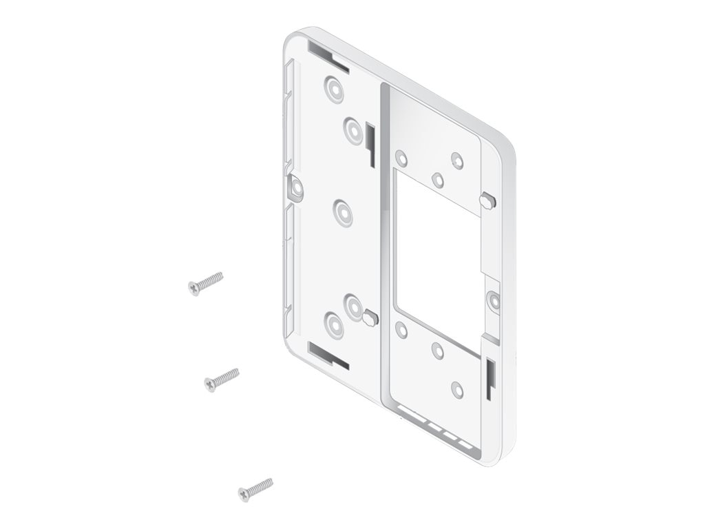 HPE Aruba Dual Gang Wall-Box Mount Adapter for AP-205H, JW041A