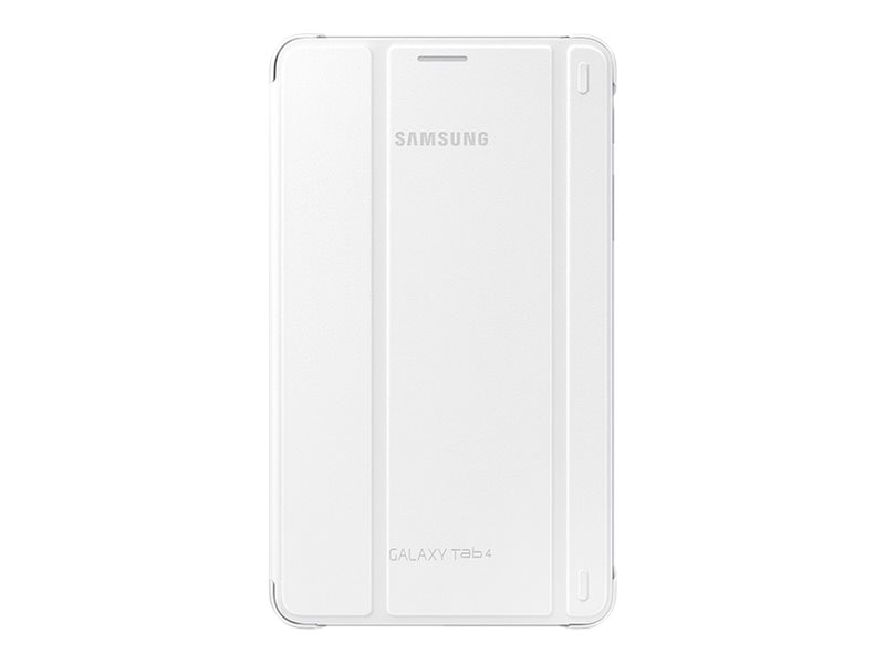 Samsung Galaxy Tab 4 7.0 Book Cover, White, EF-BT230WWEGUJ, 17069602, Carrying Cases - Other