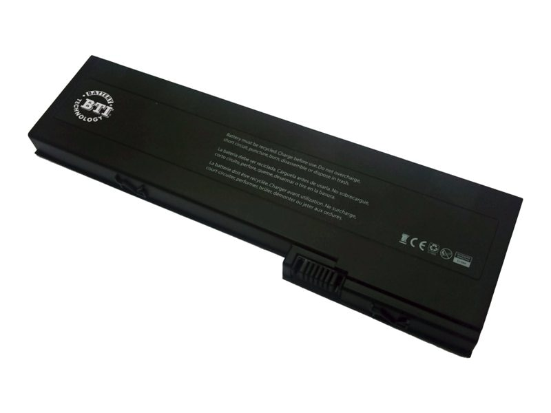 BTI 6-Cell Li-Ion Battery for HP 2710P 2760P Elite 2730P, AH547AA-BTI, 15135696, Batteries - Notebook