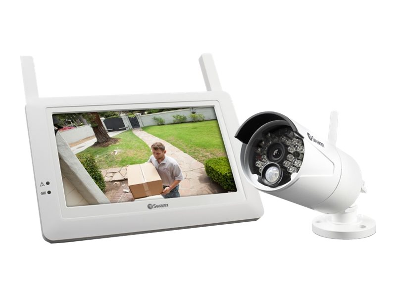 Swann Digital Wireless Security System Monitor and Camera Kit, SWADW-410KIT-US, 30949065, Cameras - Security