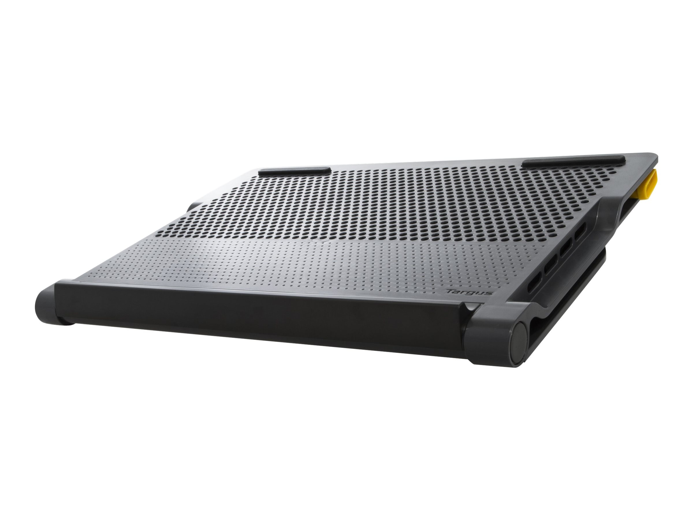 Targus Space Saving Chill Mat, 4 Port Dock Hub, Black, AWE81US