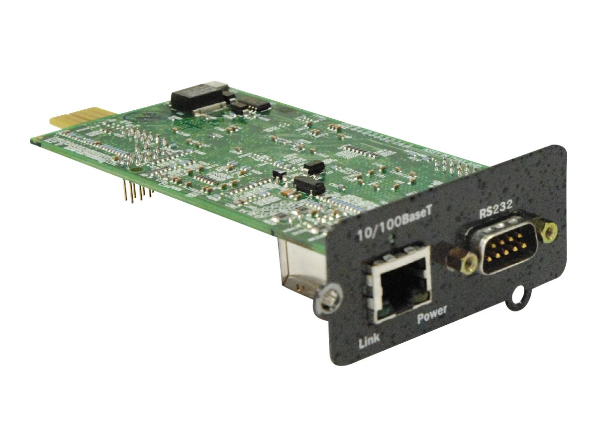 Liebert IntelliSlot Web Card, IS-WEBCARD, 8012153, Network Adapters & NICs
