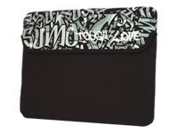 Mobile Edge 15 Sumo Graffiti Sleeve, Black, ME-SUMO77151M, 10364625, Protective & Dust Covers