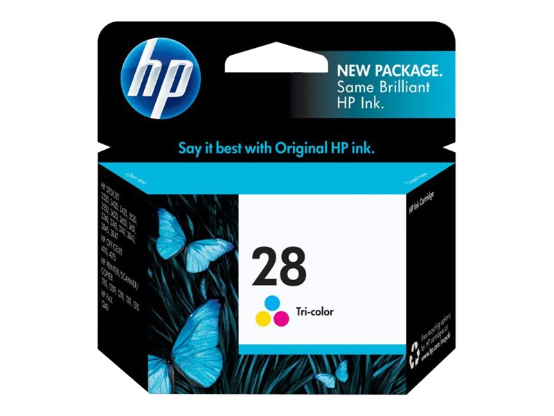 HP 28 (C8728AN) Tri-color Original Ink Cartridge
