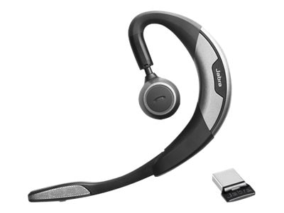 Jabra Motion UC Plus Bluetooth Headset w  Travel Kit for Microsoft Lync